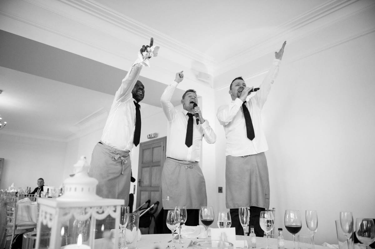 Party Singing Waiters