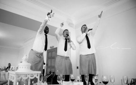 Singing Waiters Wedding Gloucester