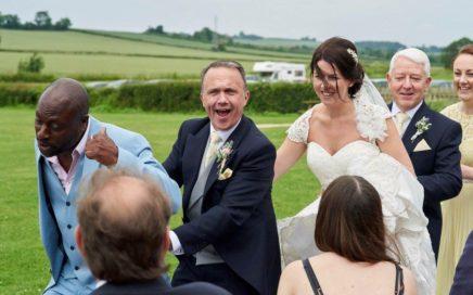 Singing Waiters Wedding Somerset